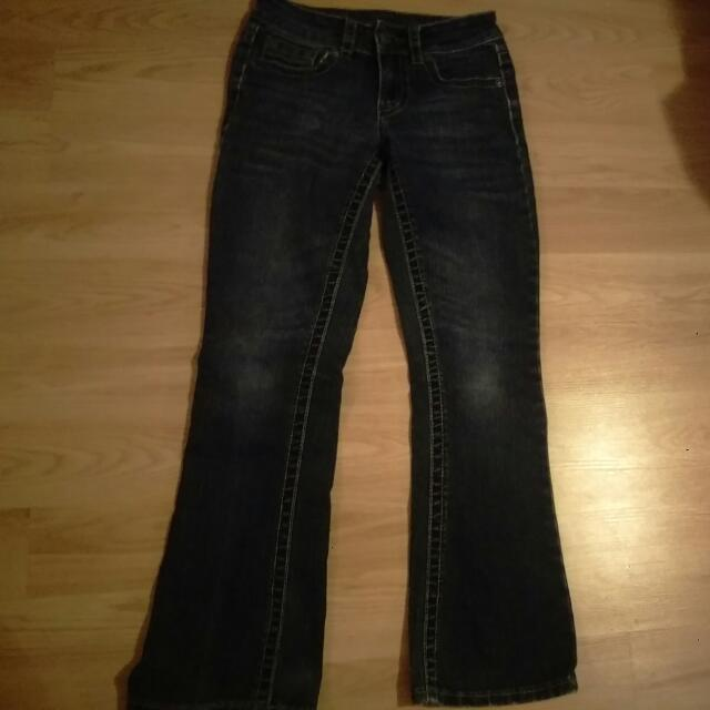 Warehouse ONE Contour Boot Cut Jean's Size 24