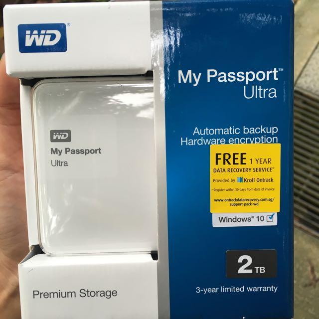 WD External Harddisk: My Passport Ultra
