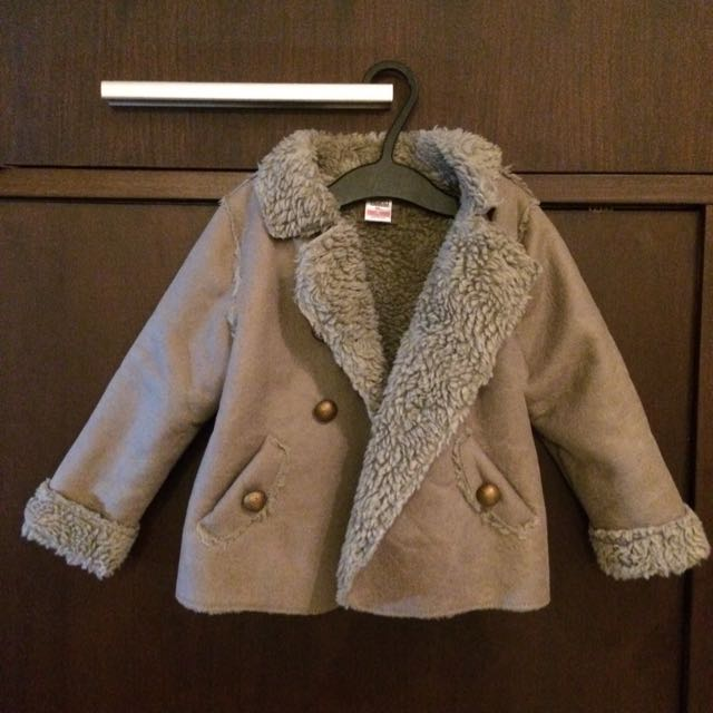 Zara Baby Fur Jacket. Very Stylish!