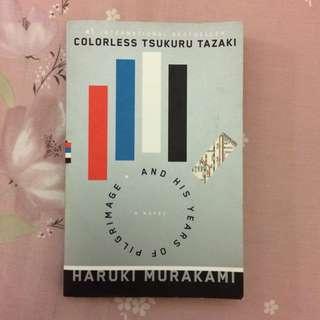 NOVEL INGGRIS(IMPOR): COLORLESS TSUKURU TAZAKI BY HARUKI MURAKAMI