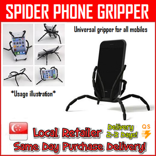 Universal Spider Gripper for all mobilephone [Samsung / Iphone / HTC / Xiaomi / LG]