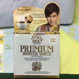 泰國 Voodoo Premium booster white 蛇毒睡眠面膜霜升级版 白蛇 (有防偽)2016版