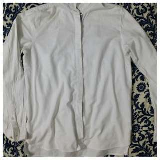 (Inc pos) White Top Long Sleeves