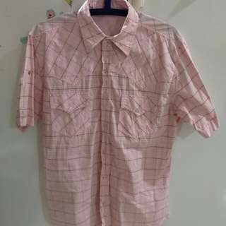Pink Checker Shirt