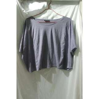 Batwing Crop Purple By SIXENCE