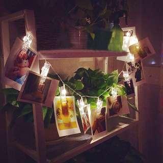 Fairy Lights / LED Polaroid / Photos Clips