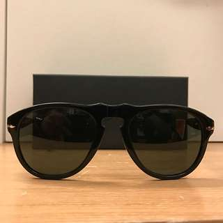 Persol太陽眼鏡 墨鏡 義大利製 made in Italy 黑框 黑色