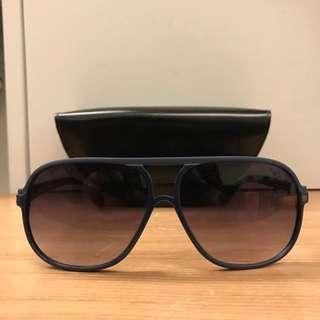 MARC BY MARC JACOBS墨鏡 太陽眼鏡 藍鏡框 二手
