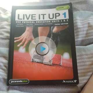 Live It Up 1 Vce Physical Education Units 1 And 2 Jacaranda