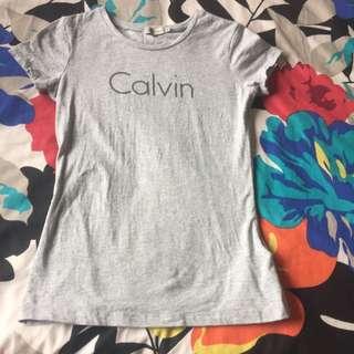 Calvin klein Tee Size XS In Grey