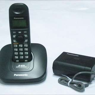 Almost New)Panasonic Cordless Phone