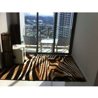 Tiger Print Carpet (Moving Out Sales)