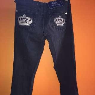 Victoria Behkam jeans