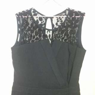 The Executive Jumpsuit with Lace