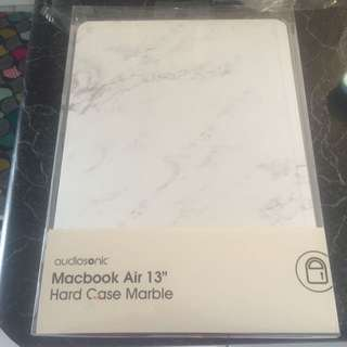 """ON HOLD MacBook Air 13"""" marble case"""