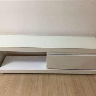 白色光面焗漆地櫃