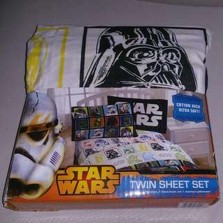 Stars Wars Twin Sheet Set