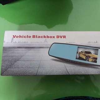Rear View Mirror Dash Cam w/ Night Vision