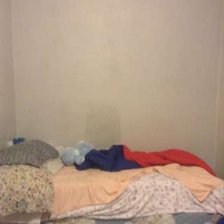 I'm Selling The Whole Bed With Pillows And Teddy And A Blanket