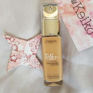 L'OREAL True Match Foundation W4 Golden Natural Loreal