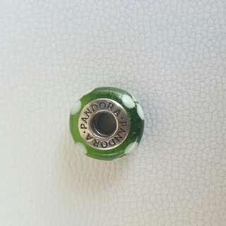 Pandora Charm Green
