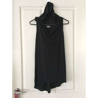 Black Milk Tank With Hood