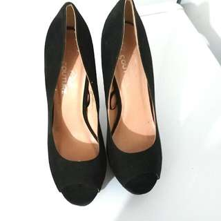 Open Toe Pumps Size 8