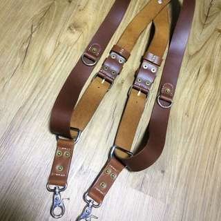 Hand Crafted Leather Camera Strap Harness