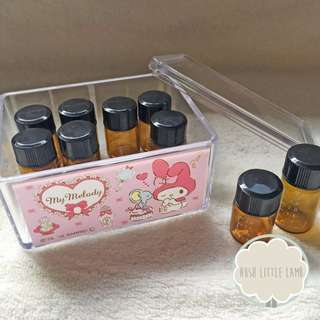 IN STOCK ❥ Multi Purpose Sanrio Stackable Clear Storage Box - My Melody