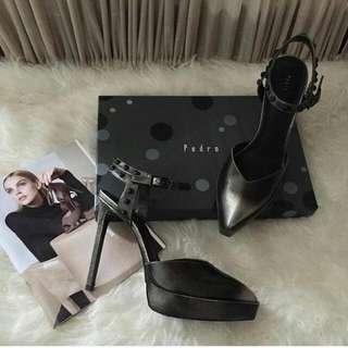 Pedro Woman Grey Shoes
