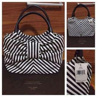 Kaye Spade Striped Handbag