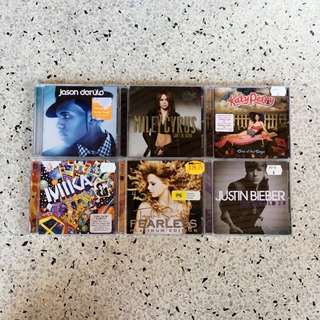Assorted CDs $15 for 2