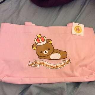 懶懶熊十週年提袋內防水