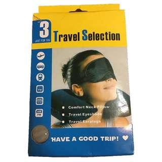 旅行組(耳塞、眼罩、頸枕)