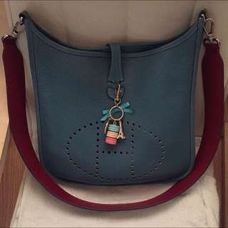 Used hermes evelyn size pm