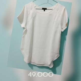 The Limited White Blouse