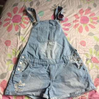 Cotton On Short Overalls