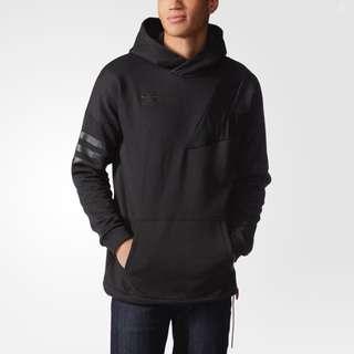 Adidas Originals Bball Hoddie Black Size S