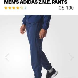 Adidas Z.N.E Pant Size S