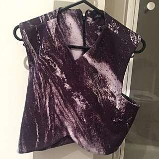 Zara Crop Top (size M)