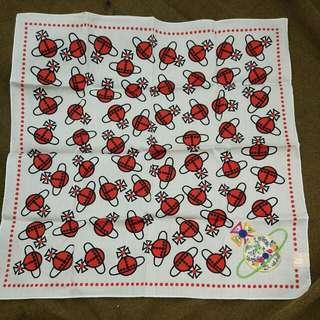 Vivienne Westwood棉方巾