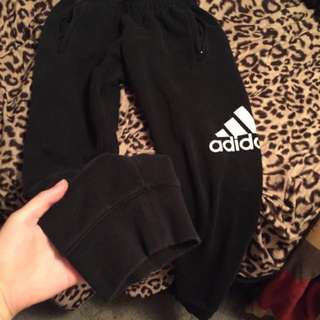 Black Adidas Sweats Small