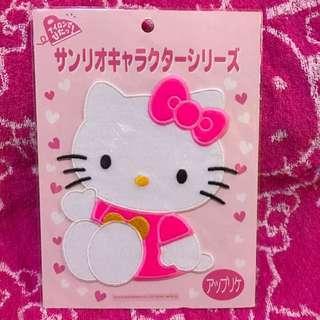 Authentic Sanrio Original Hello Kitty Iron On