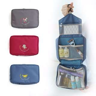 Multifunction Hanging Toiletry Pouch Cosmetic Bag