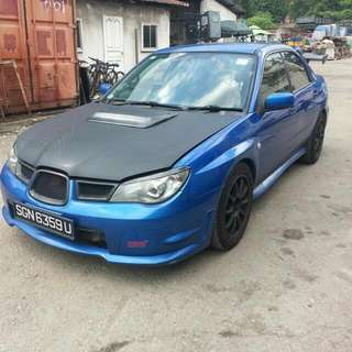 Subaru wrx 2.5m turbo