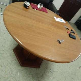 Round table expandable