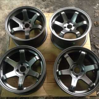"""Replica Rays- 16"""" Te37 Concave Rims Inly"""