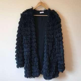 Fluffy Cardigan/ Jacket