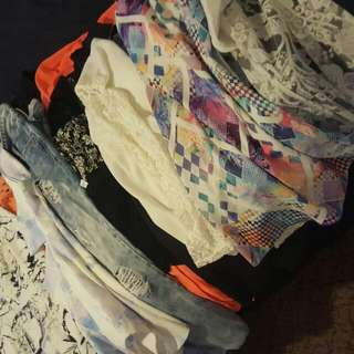 Lots Of Size 8-14 Clothing For Sale