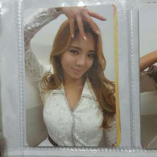 [WTS] Hyoyeon (SNSD) Mr. Taxi Korean Repackaged Photocard